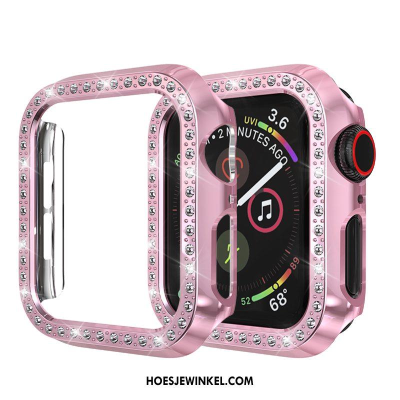 Apple Watch Series 3 Hoesje Bescherming Goud Hoes, Apple Watch Series 3 Hoesje Strass Anti-fall