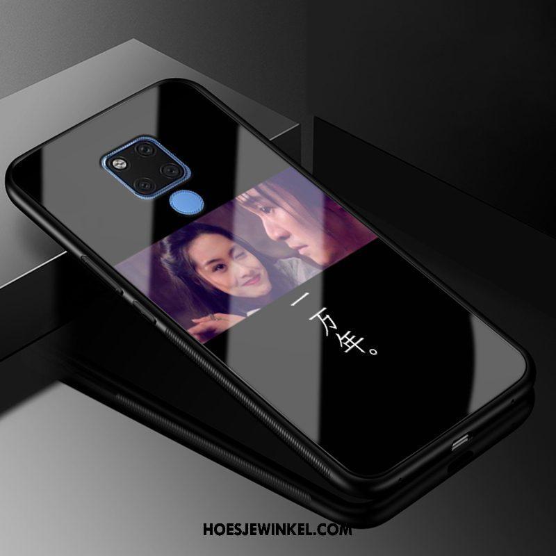 Huawei Mate 20 Hoesje Persoonlijk Purper Trendy Merk, Huawei Mate 20 Hoesje Scheppend All Inclusive