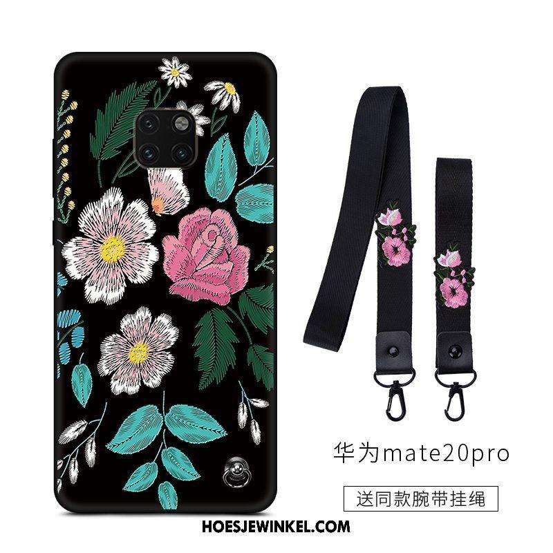 Huawei Mate 20 Pro Hoesje Eenvoudige Mini Schrobben, Huawei Mate 20 Pro Hoesje Net Red Lovers