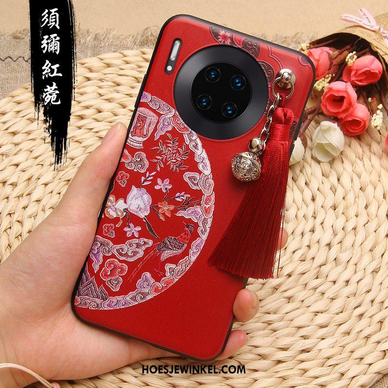 Huawei Mate 30 Pro Hoesje Anti-fall Chinese Stijl Scheppend, Huawei Mate 30 Pro Hoesje All Inclusive Mobiele Telefoon