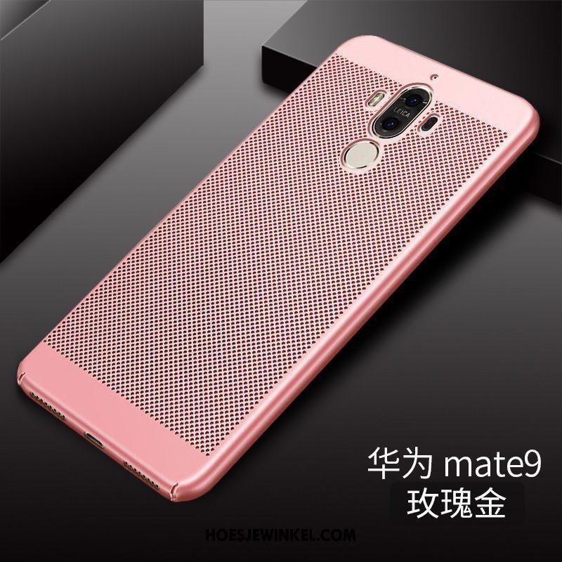 Huawei Mate 9 Hoesje Mobiele Telefoon Hard Ademend, Huawei Mate 9 Hoesje Roze