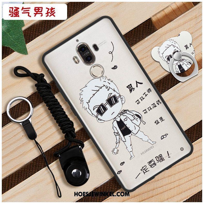 Huawei Mate 9 Hoesje Zacht Hard Wit, Huawei Mate 9 Hoesje Hoes Mobiele Telefoon