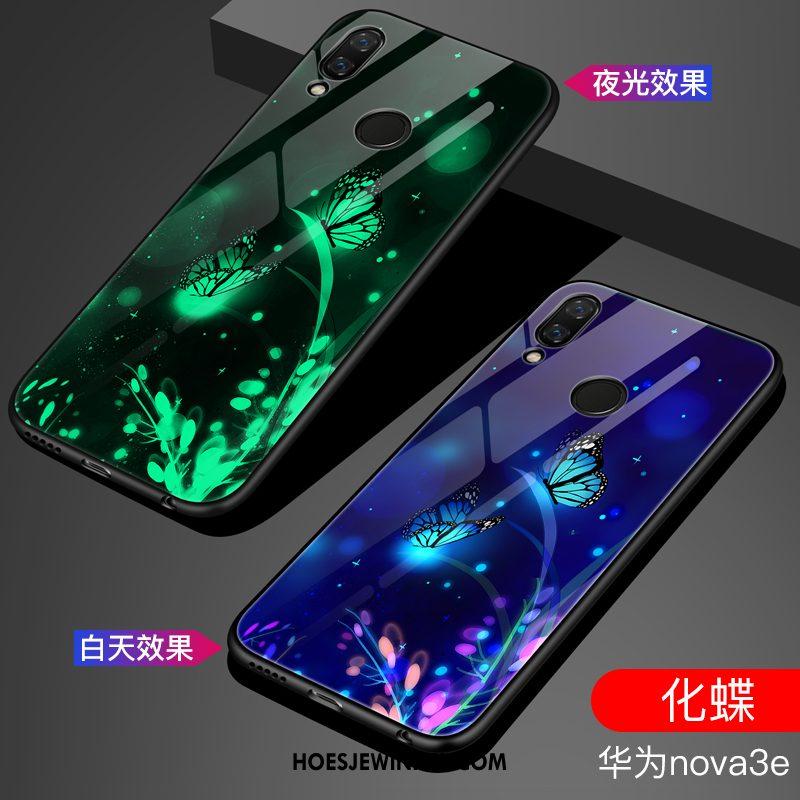 Huawei Nova 3e Hoesje Spiegel Trend Anti-fall, Huawei Nova 3e Hoesje Mode Scheppend
