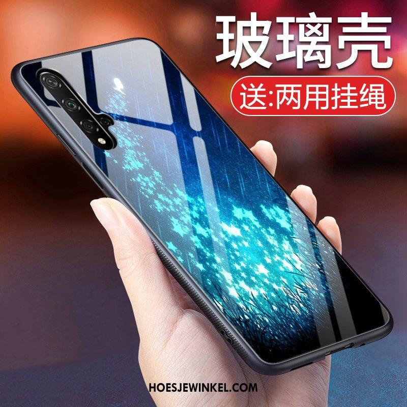 Huawei Nova 5t Hoesje Mobiele Telefoon Hoes Bescherming, Huawei Nova 5t Hoesje Purper Net Red