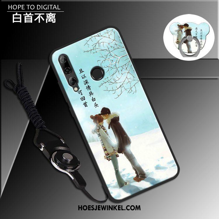 Huawei P Smart+ 2019 Hoesje Bescherming Scheppend Siliconen, Huawei P Smart+ 2019 Hoesje Hoes Anti-fall