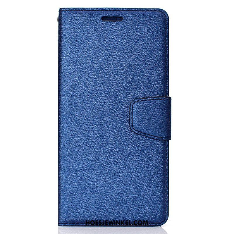 Huawei P20 Lite Hoesje Leren Etui Kaart Goud, Huawei P20 Lite Hoesje Clamshell Mobiele Telefoon