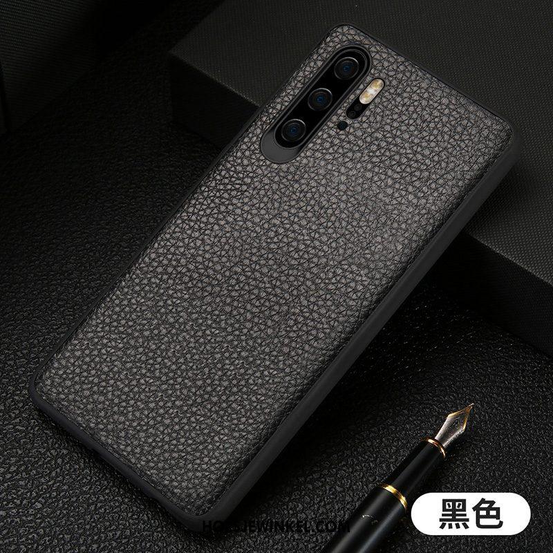 Huawei P30 Pro Hoesje Blauw Magnetisch Persoonlijk, Huawei P30 Pro Hoesje Anti-fall Bescherming