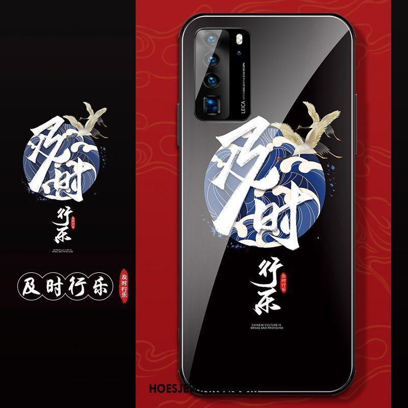 Huawei P40 Hoesje Scheppend Siliconen Anti-fall, Huawei P40 Hoesje All Inclusive Nieuw