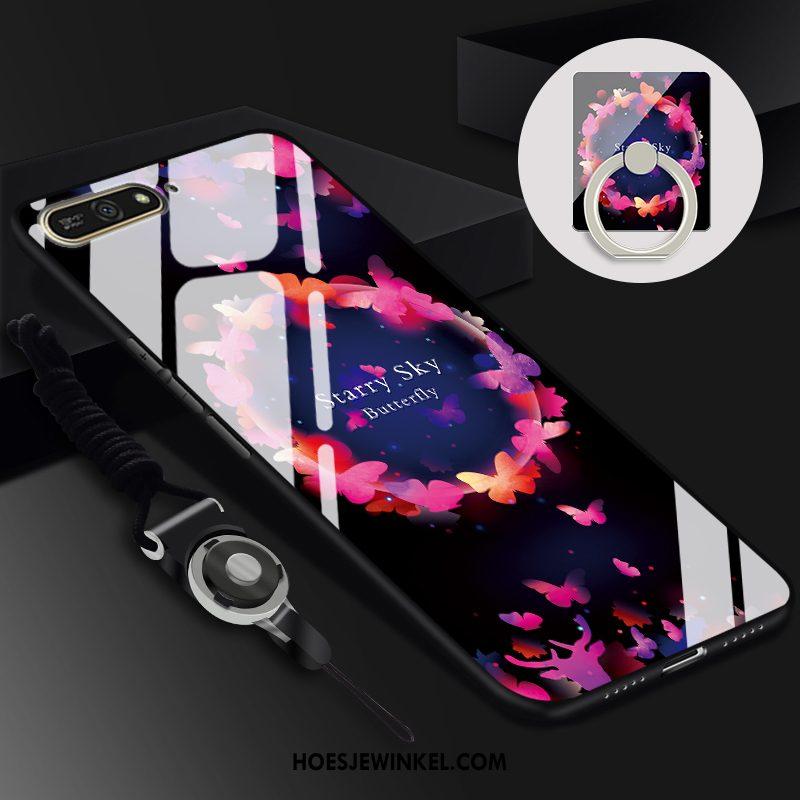 Huawei Y6 2018 Hoesje Mobiele Telefoon Bescherming Hoes, Huawei Y6 2018 Hoesje Geel Trend