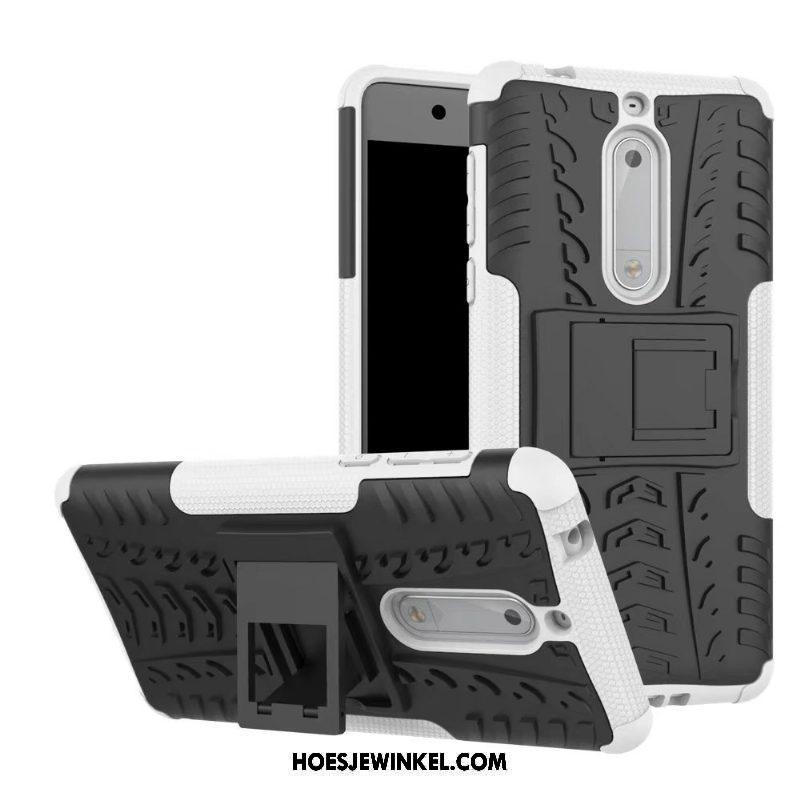 Nokia 5 Hoesje All Inclusive Bescherming Gasbag, Nokia 5 Hoesje Anti-fall Ondersteuning