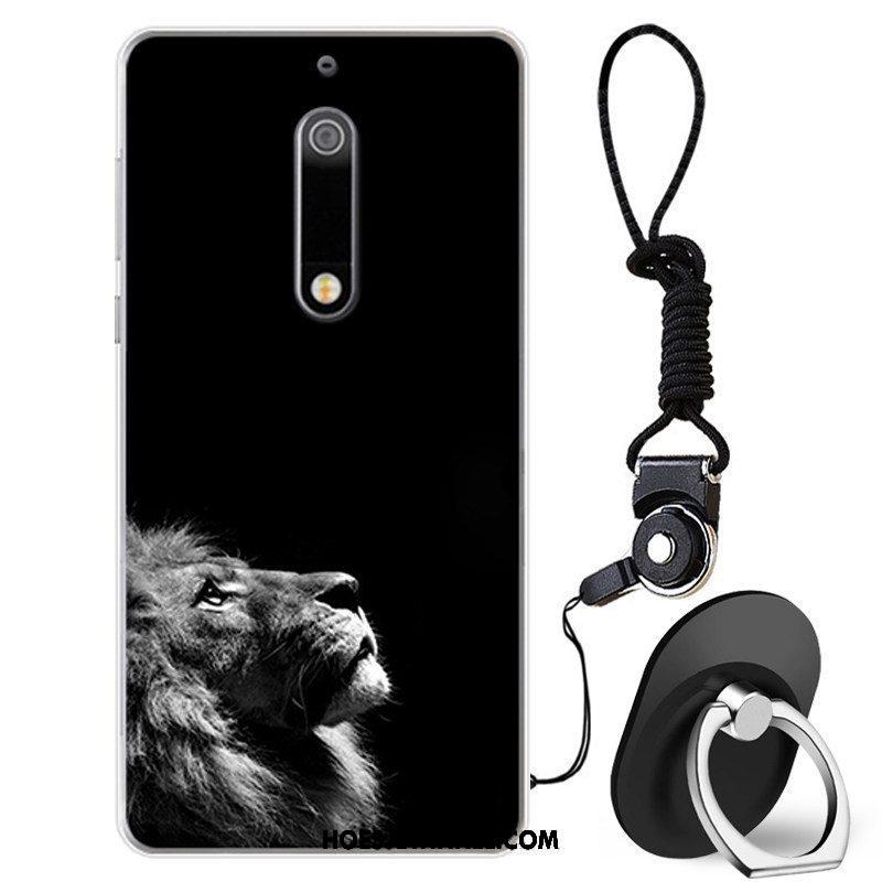 Nokia 5 Hoesje All Inclusive Bescherming Siliconen, Nokia 5 Hoesje Zwart Persoonlijk
