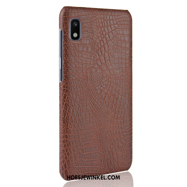 Samsung Galaxy A10 Hoesje Licht Hard Hoes, Samsung Galaxy A10 Hoesje Leer Bescherming