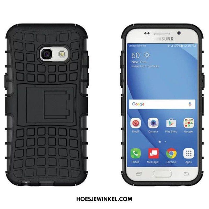 Samsung Galaxy A3 2017 Hoesje Ondersteuning Patroon Mobiele Telefoon, Samsung Galaxy A3 2017 Hoesje Bescherming Anti-fall