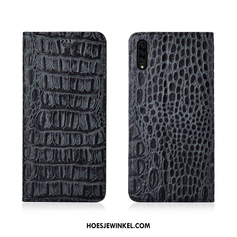 Samsung Galaxy A50s Hoesje Schrobben Trendy Merk Siliconen, Samsung Galaxy A50s Hoesje Folio Khaki