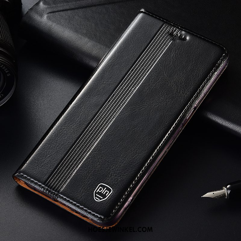 Samsung Galaxy A50s Hoesje Ster Mobiele Telefoon Bescherming, Samsung Galaxy A50s Hoesje Echt Leer Patroon