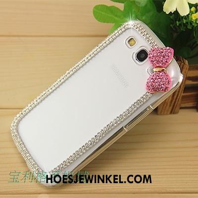 Samsung Galaxy A8 Hoesje Ster Hard Met Strass, Samsung Galaxy A8 Hoesje Bescherming Mobiele Telefoon