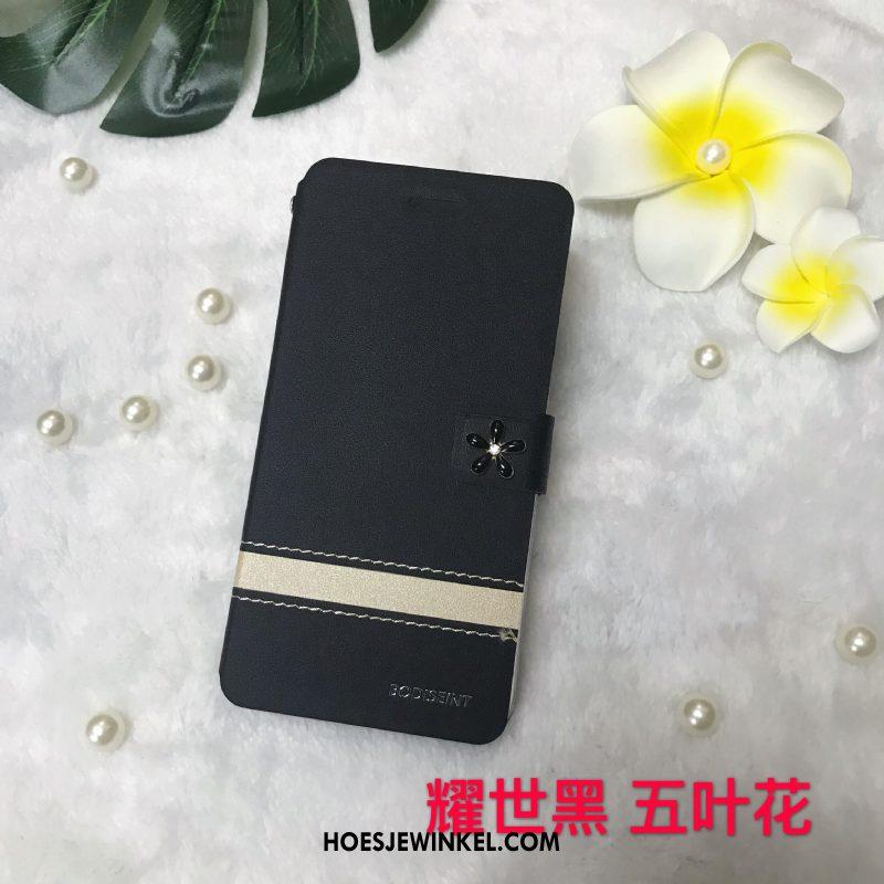 Samsung Galaxy J3 2017 Hoesje Leren Etui Clamshell All Inclusive, Samsung Galaxy J3 2017 Hoesje Bescherming Hoes