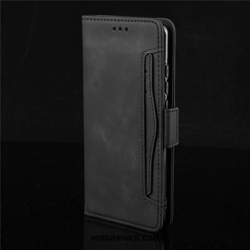 Samsung Galaxy S20+ Hoesje Mobiele Telefoon Bescherming Leren Etui, Samsung Galaxy S20+ Hoesje Clamshell Ster Braun