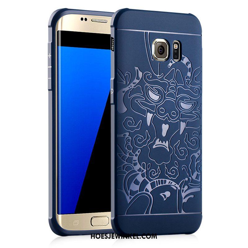 Samsung Galaxy S7 Hoesje Hemming Zacht All Inclusive, Samsung Galaxy S7 Hoesje Bescherming Siliconen