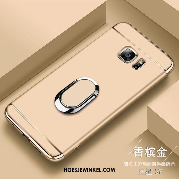 Samsung Galaxy S7 Hoesje Ring Hoes Ster, Samsung Galaxy S7 Hoesje Bescherming Mobiele Telefoon