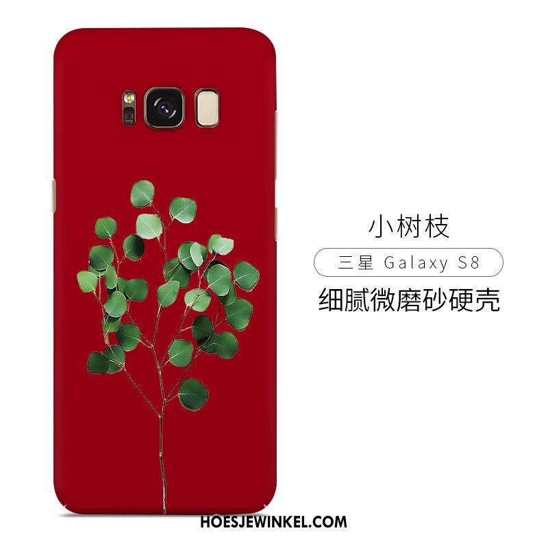 Samsung Galaxy S8 Hoesje Scheppend Rood Mobiele Telefoon, Samsung Galaxy S8 Hoesje Hard Persoonlijk