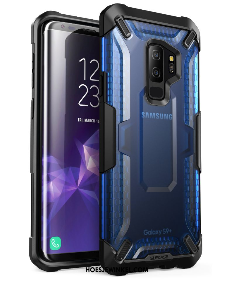 Samsung Galaxy S9+ Hoesje All Inclusive Mobiele Telefoon Bescherming, Samsung Galaxy S9+ Hoesje Ster Schrobben