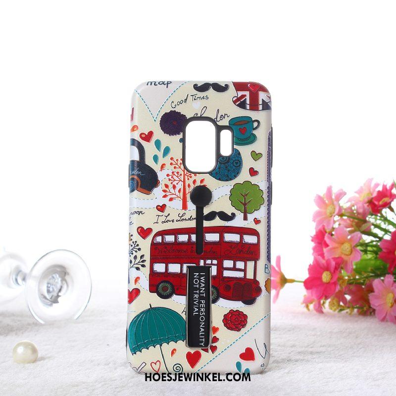 Samsung Galaxy S9 Hoesje Geschilderd Heimelijkheid Ring, Samsung Galaxy S9 Hoesje Mobiele Telefoon All Inclusive