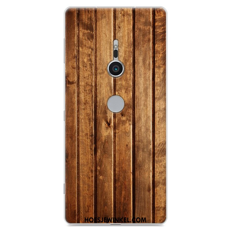 Sony Xperia Xz2 Hoesje Anti-fall Hoes Donkerblauw, Sony Xperia Xz2 Hoesje Geschilderd Mobiele Telefoon