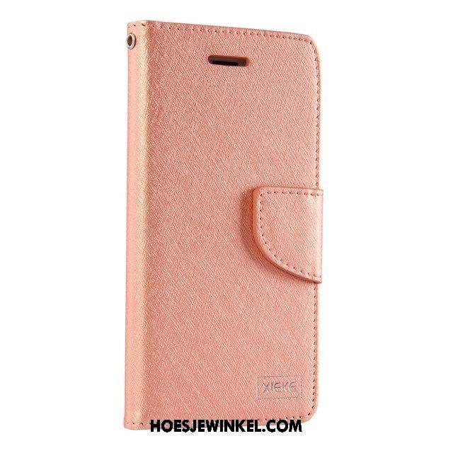 Xiaomi Mi A1 Hoesje Goud Eenvoudige Maand, Xiaomi Mi A1 Hoesje Mobiele Telefoon Folio Beige