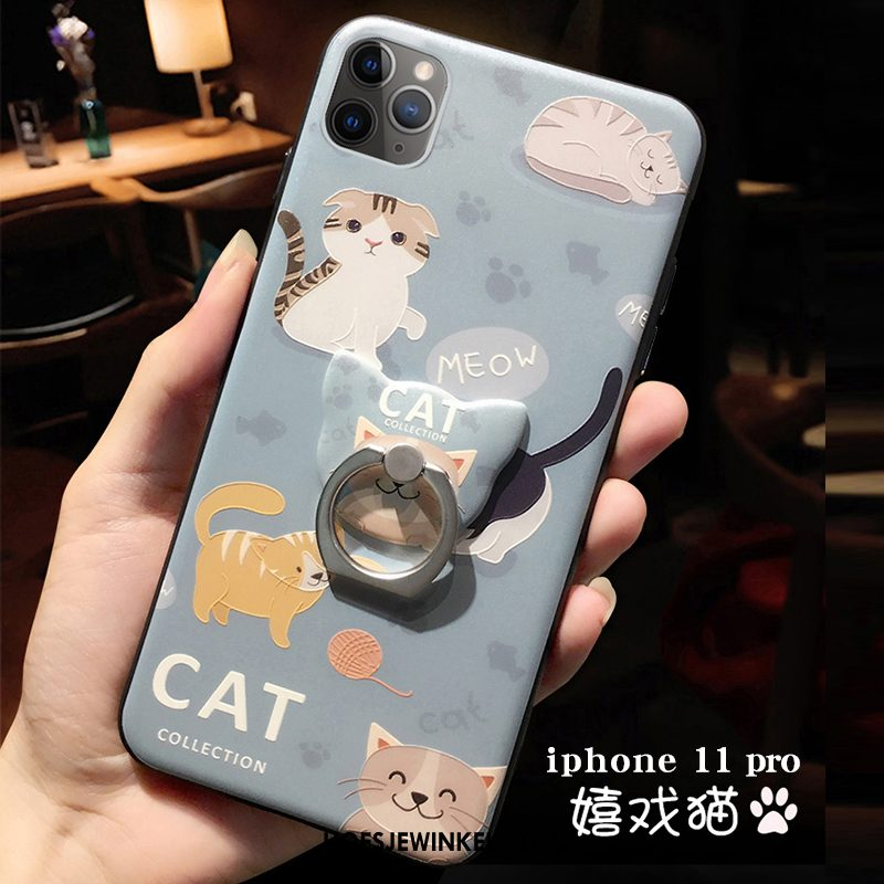 iPhone 11 Pro Hoesje Mobiele Telefoon Nieuw Spotprent, iPhone 11 Pro Hoesje Blauw Lovers