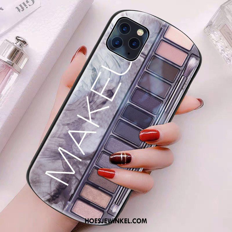 iPhone 11 Pro Max Hoesje Persoonlijk Glas Rondje, iPhone 11 Pro Max Hoesje Mobiele Telefoon Tas