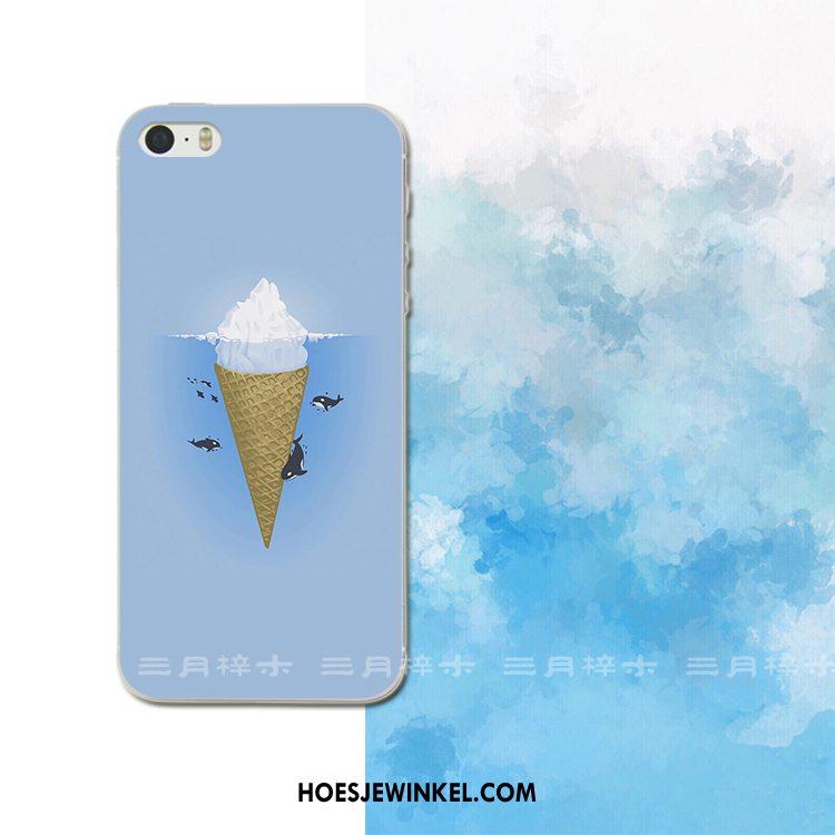 iPhone 5c Hoesje Jeugd Geel Siliconen, iPhone 5c Hoesje Anti-fall Bescherming