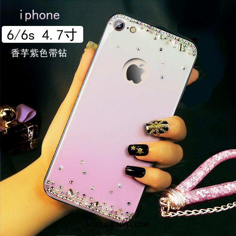 iPhone 6 / 6s Hoesje Met Strass Mobiele Telefoon Roze, iPhone 6 / 6s Hoesje Trend High End
