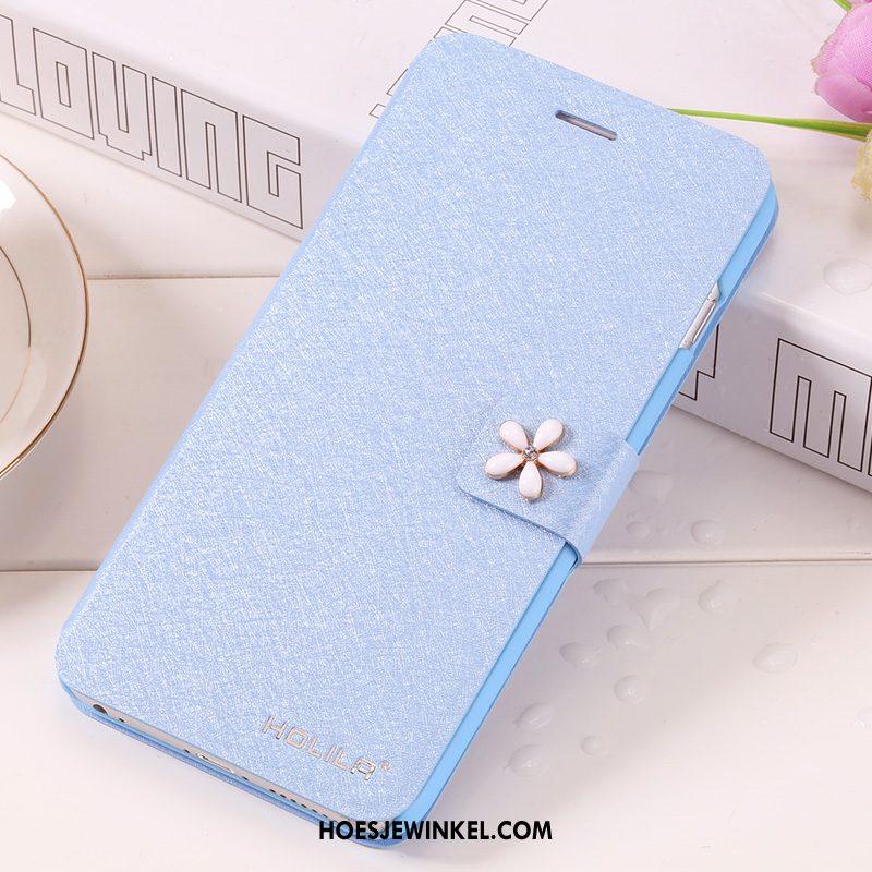 iPhone 6 / 6s Hoesje Mobiele Telefoon Blauw Hoes, iPhone 6 / 6s Hoesje Bescherming Clamshell