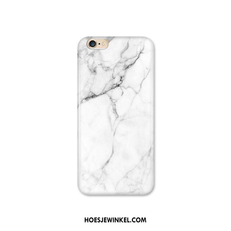 iPhone 6 / 6s Plus Hoesje Mobiele Telefoon Lovers Patroon, iPhone 6 / 6s Plus Hoesje Grote Wit