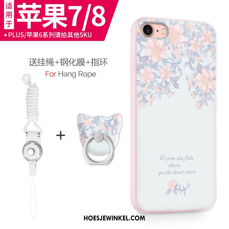 iPhone 7 Hoesje Mobiele Telefoon Hoes Zacht, iPhone 7 Hoesje Siliconen All Inclusive