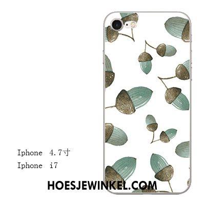 iPhone 7 Hoesje Vers Licht Anti-fall, iPhone 7 Hoesje Groen All Inclusive