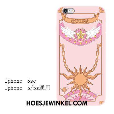 iPhone Se Hoesje All Inclusive Mobiele Telefoon Roze, iPhone Se Hoesje Mini Siliconen