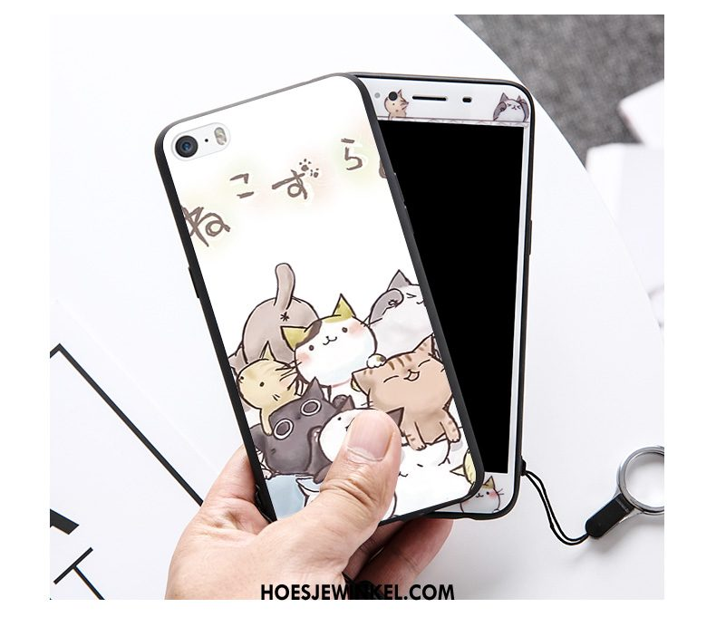 iPhone Se Hoesje Hanger Trend Hoes, iPhone Se Hoesje Anti-fall Roze