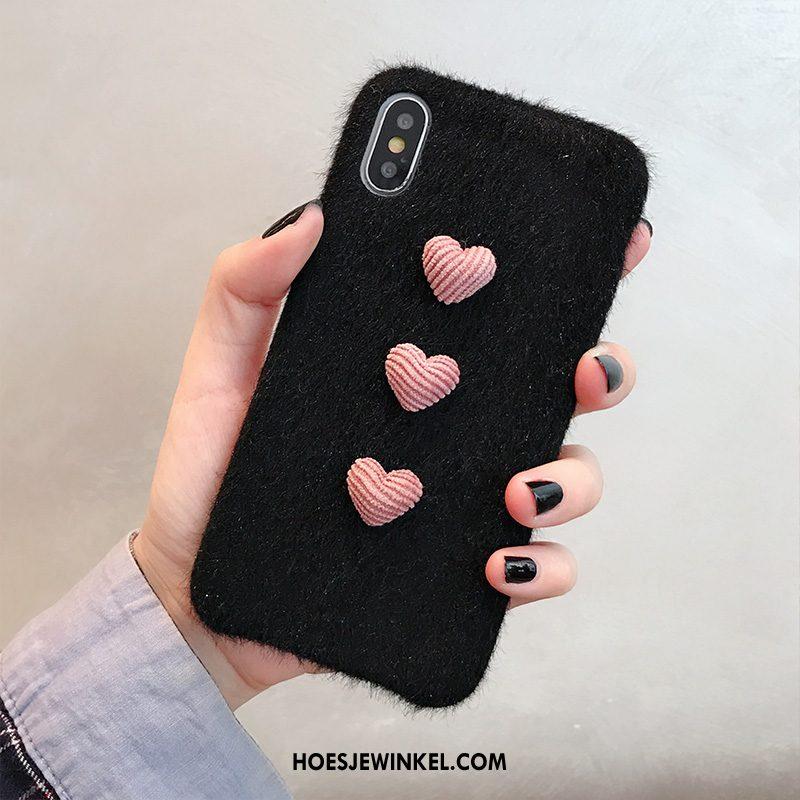 iPhone Xs Max Hoesje Persoonlijk Liefde All Inclusive, iPhone Xs Max Hoesje Zacht Net Red