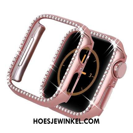 Apple Watch Series 2 Hoesje Accessoires Anti-fall Bescherming, Apple Watch Series 2 Hoesje Roze Hoes