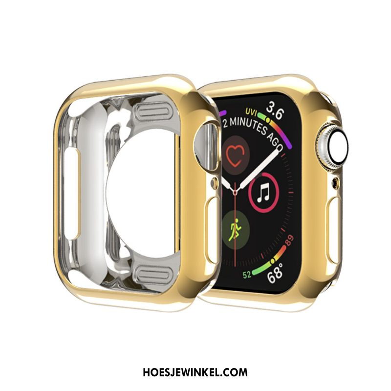 Apple Watch Series 2 Hoesje Hoes Siliconen Omlijsting, Apple Watch Series 2 Hoesje Skärmskydd Tas