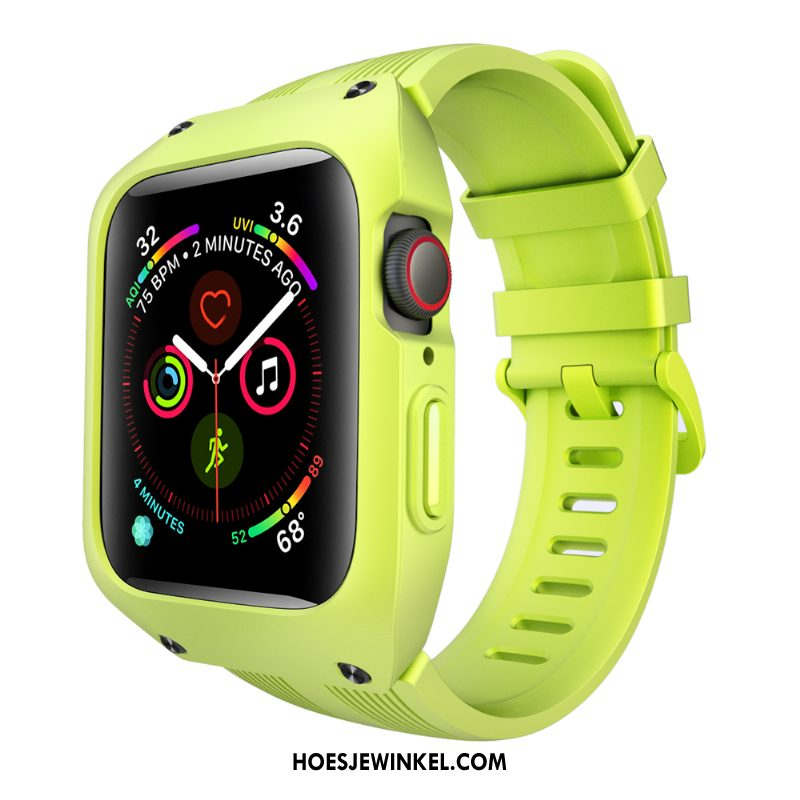 Apple Watch Series 2 Hoesje Siliconen Bescherming Sport, Apple Watch Series 2 Hoesje Anti-fall Drie Verdedigingen