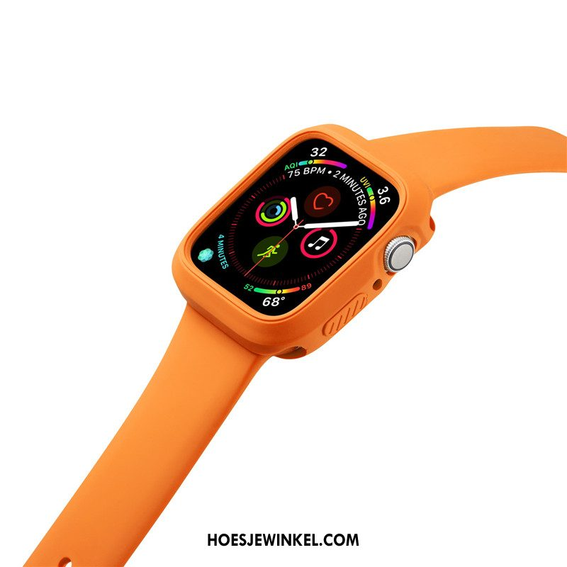 Apple Watch Series 2 Hoesje Sport Oranje Anti-fall, Apple Watch Series 2 Hoesje Siliconen