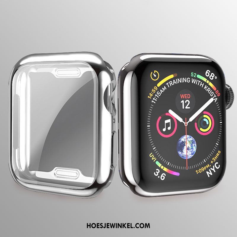 Apple Watch Series 2 Hoesje Zacht Dun All Inclusive, Apple Watch Series 2 Hoesje Plating Siliconen