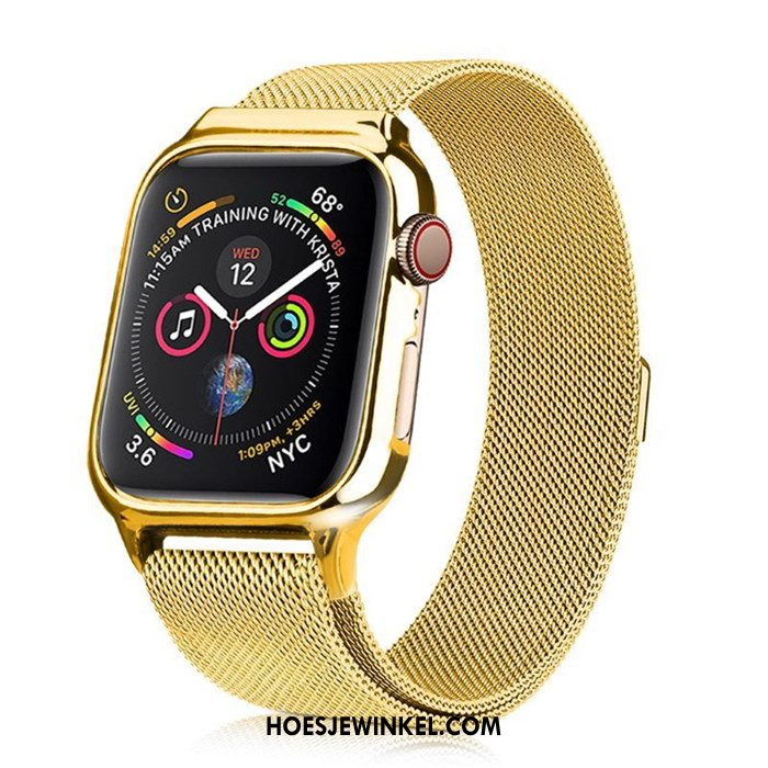 Apple Watch Series 3 Hoesje Bescherming All Inclusive Goud, Apple Watch Series 3 Hoesje