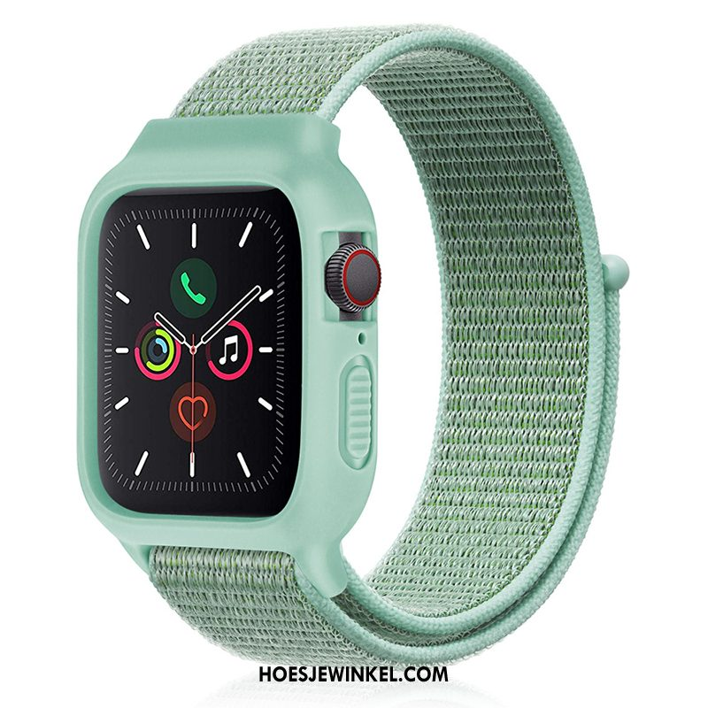 Apple Watch Series 3 Hoesje Groen Nylon Sport, Apple Watch Series 3 Hoesje Trend Nieuw