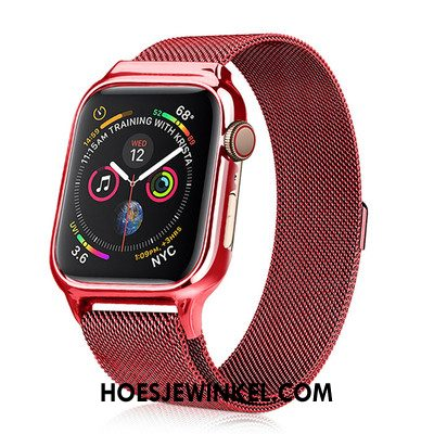 Apple Watch Series 3 Hoesje Hoes Bescherming All Inclusive, Apple Watch Series 3 Hoesje Nieuw Rood Beige