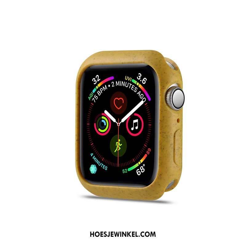 Apple Watch Series 3 Hoesje Hoes Citroen Geel, Apple Watch Series 3 Hoesje Bescherming
