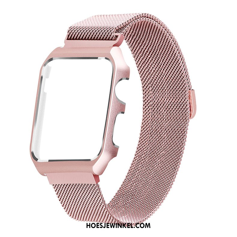Apple Watch Series 3 Hoesje Roze Bescherming, Apple Watch Series 3 Hoesje Beige